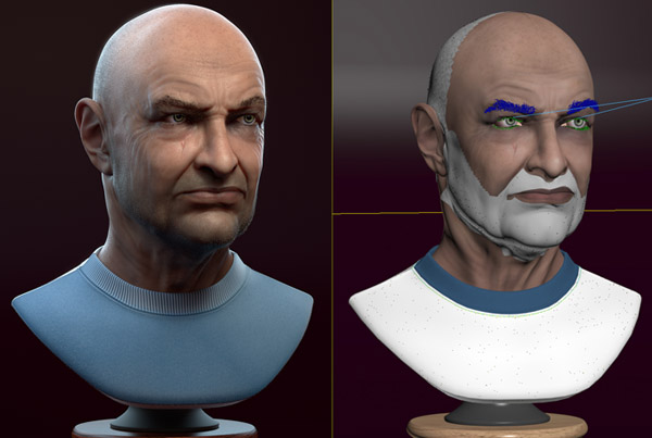 John Locke – from sculpting to render